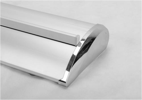 Elegant silver-colored base